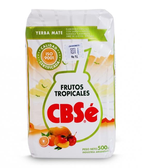 Yerba mate CBSe owoce tropikalne 500g