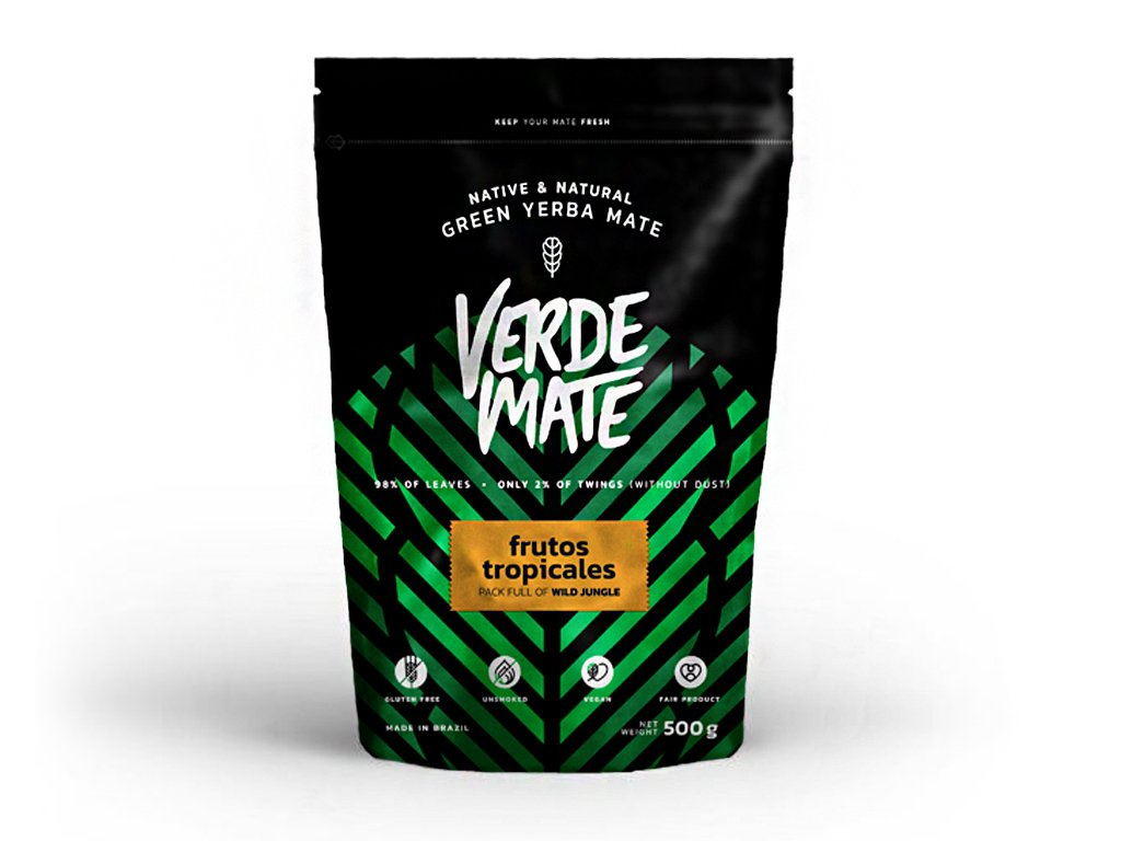 Yerba Verde Mate Green Frutos Tropicales 500g