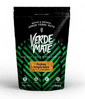 Yerba Verde Mate Green Frutos Tropicales 500g