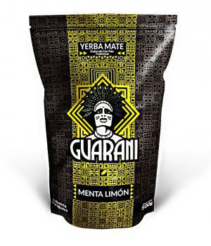 Yerba Mate Guarani Menta Limon 500g