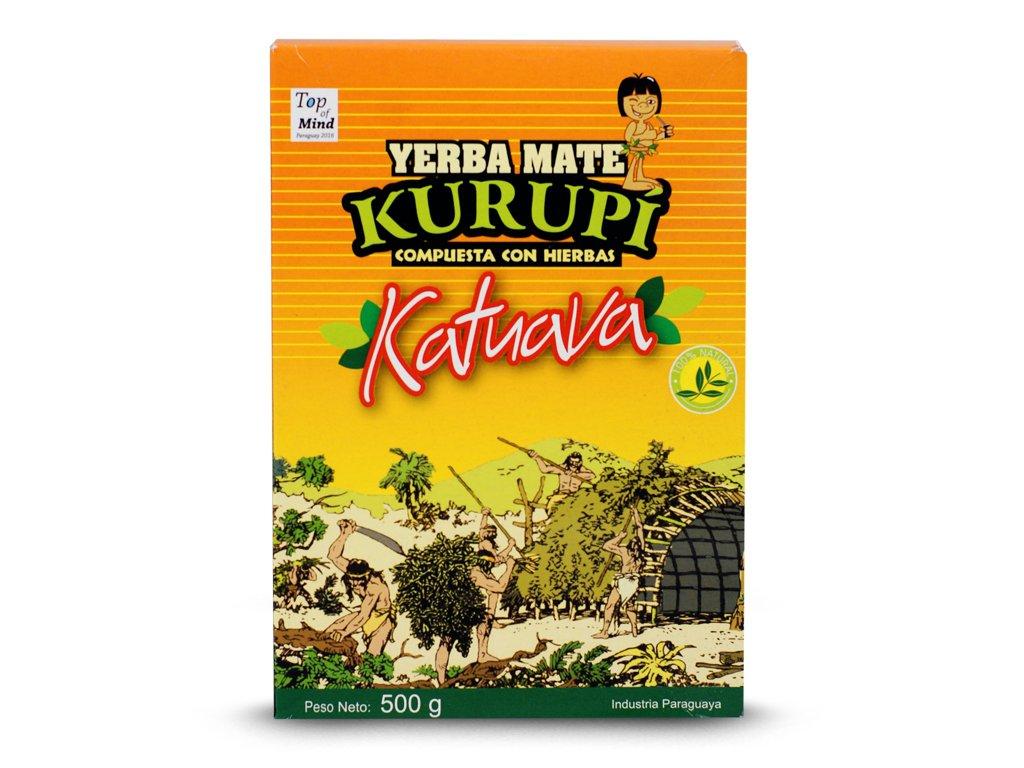 Yerba mate Kurupi Katuava Especial 500g