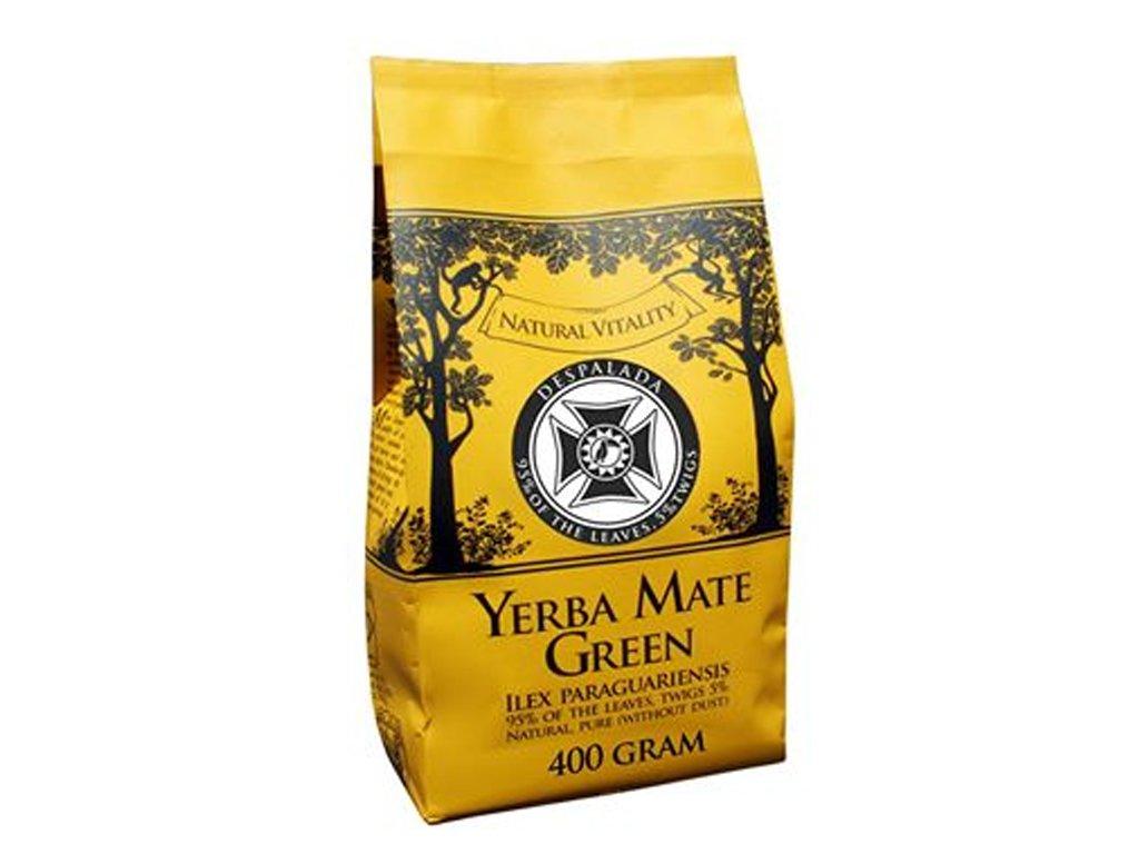 Yerba mate Green Despelada moc cena, właściwości