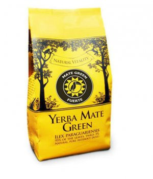 Yerba mate green fuerte cena, zastosowanie, właściwości