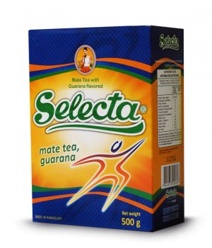 Yerba mate selecta energy con guarana 500g