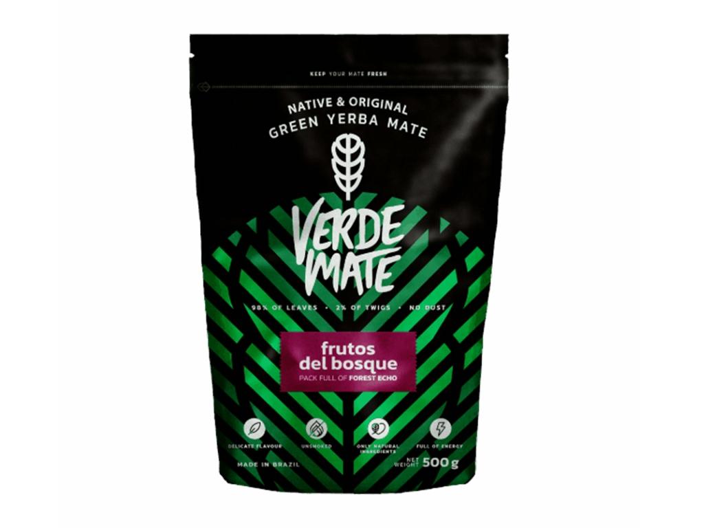 Yerba Verde Mate Frutos del bosque 500g