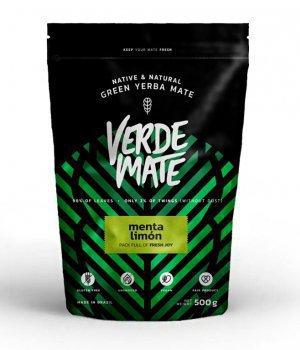 Yerba Mate Verde mate Menta Limon 500g