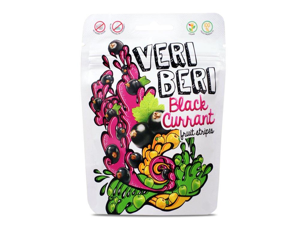 Żelki czarna porzeczka 50g Veri Beri