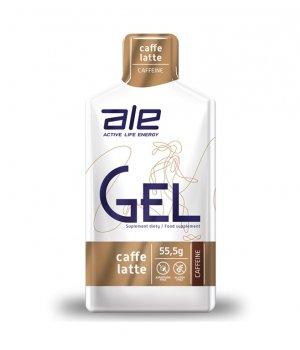 ŻEL ENERGETYCZNY ALE GEL CAFE LATTE Z KOFEINĄ 55,5 g - ALE