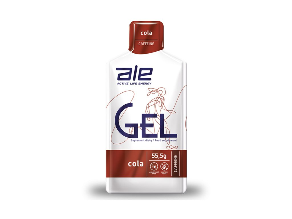 ŻEL ENERGETYCZNY ALE GEL COLA Z KOFEINĄ 55,5 g - ALE