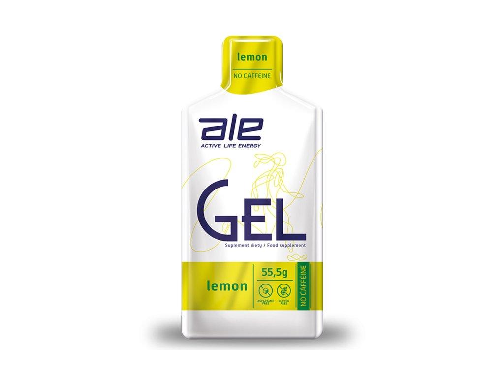 ŻEL ENERGETYCZNY ALE GEL CYTRYNA 55,5 g - ALE
