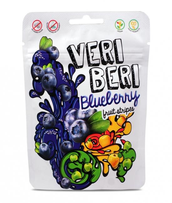 Żelki jagodowe 50g Veri Beri