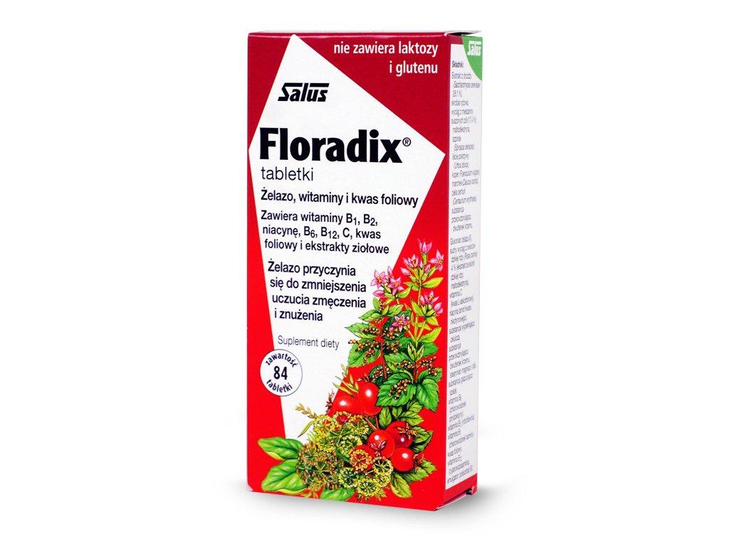 Żelazo, witaminy i kwas foliowy Floradix
