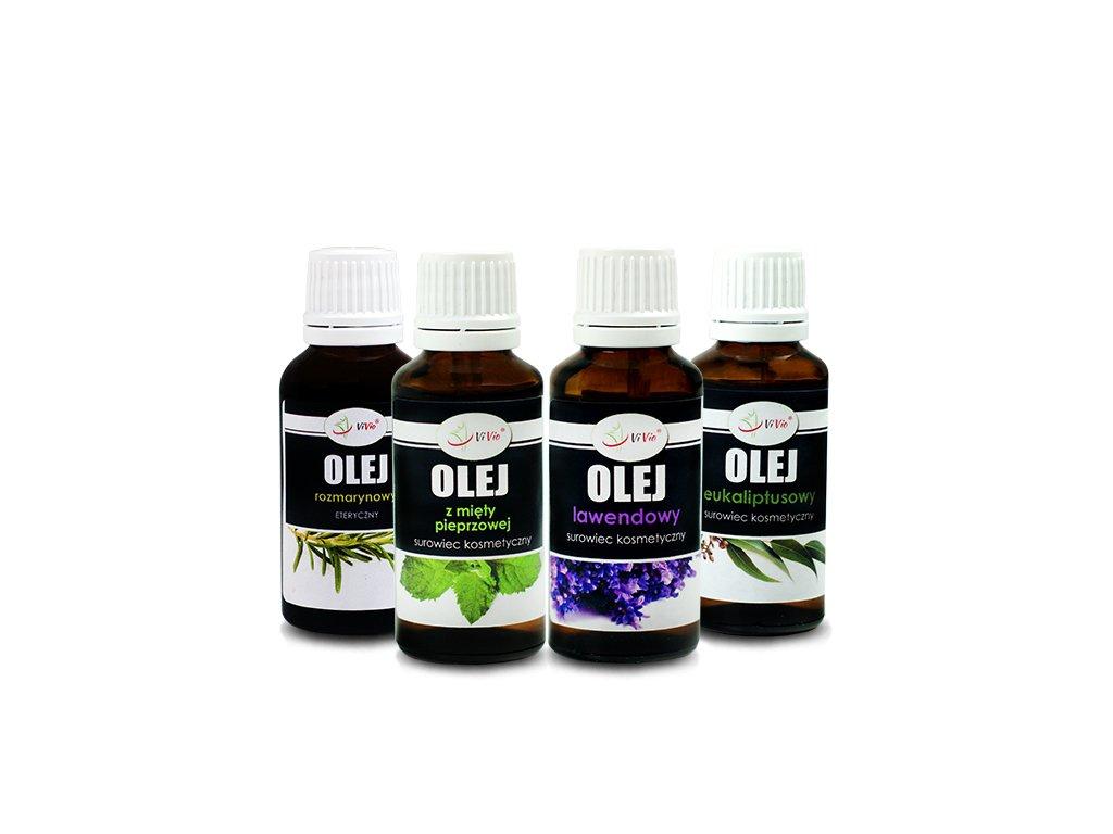 Zestaw olejków do aromaterapii relaks/spokój