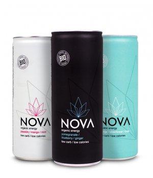 Zestaw 3x napój energetyczny NOVA