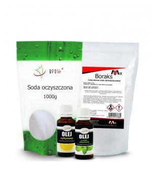 Naturalne tabletki do zmywarki DIY