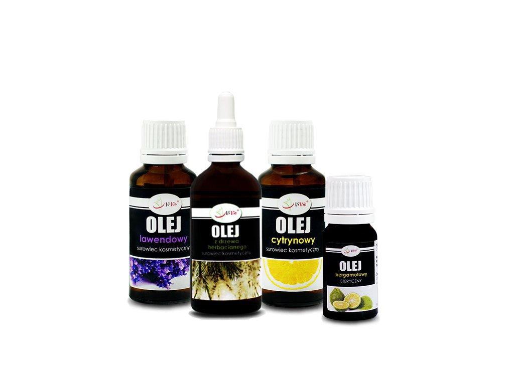 Zestaw olejków Dom bez chemii