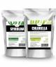 Spirulina chlorella tabletki zestaw