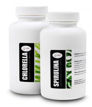 Spirulina chlorella tabletki opinie działania