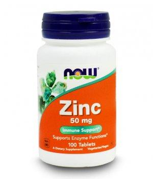 NOW - Zinc Gluconate 100 tabletek