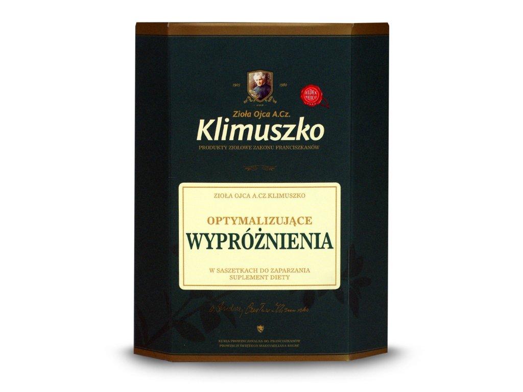Zioła optymalizujące wypróżnienia 40g, Klimuszko, skład