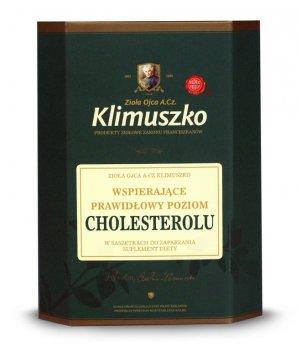Zioła wspomagające prawidłowy poziom cholesterolu 40g, zioła Klimuszko, cena, skład