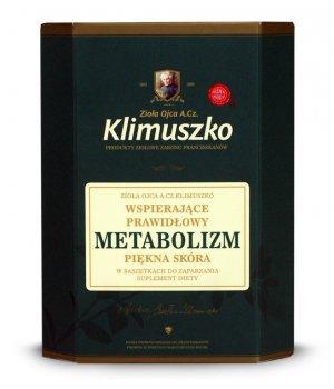Zioła wspomagające prawidłowy metabolizm 40g, zioła klimuszko, zastosowanie