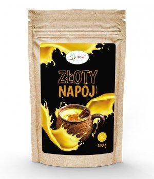 Złote mleko przepis z kurkumy złoty napój proszek 100g