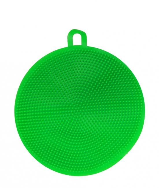 Myjka silikonowa, zmywak do naczyń okrągły