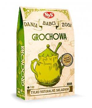 Zupa grochowa naturalna, zdrowa, opinie