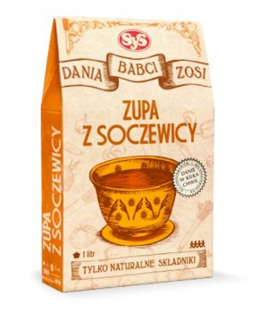 Zupa z soczewicy przepis zdrowa, naturalna