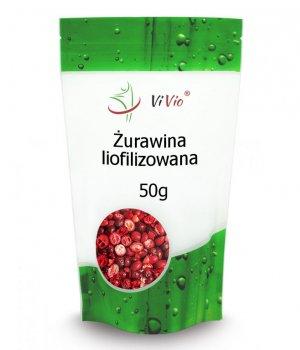 Żurawina liofilizowana owoce cena, właściwości, zastosowanie