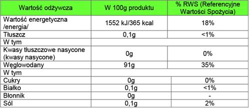 Tapioca flour 500g / Mąka z tapioki