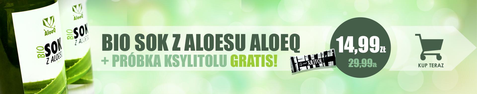 SOK Z ALOESU + GRATIS