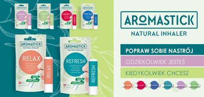 Sztyft do nosa Aromastick - naturalny inhalator