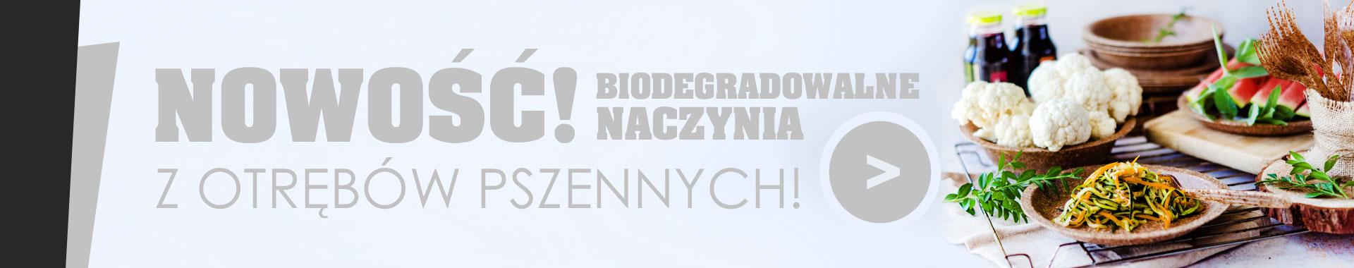 Naczynia biodegradowalne