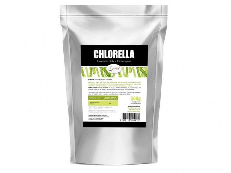 Chlorella proszek suplement diety