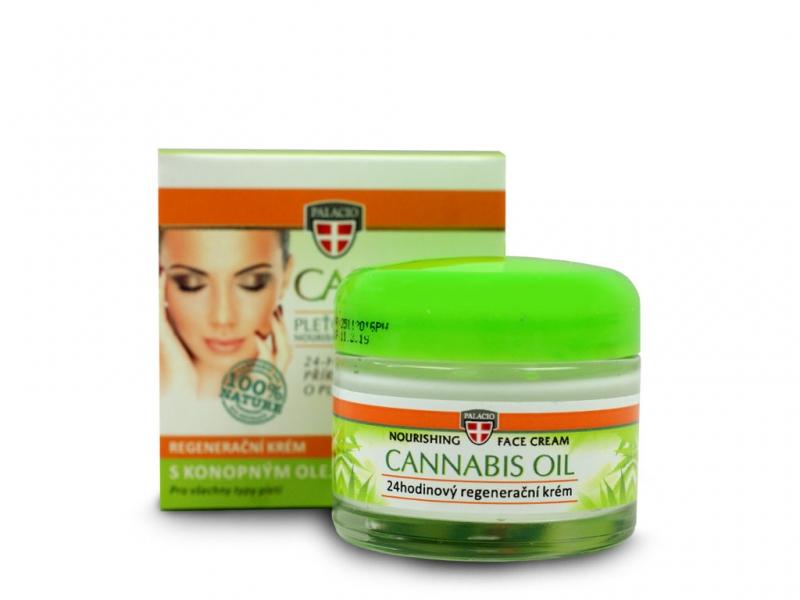 Krem do twarzy z olejem konopnym cannabis
