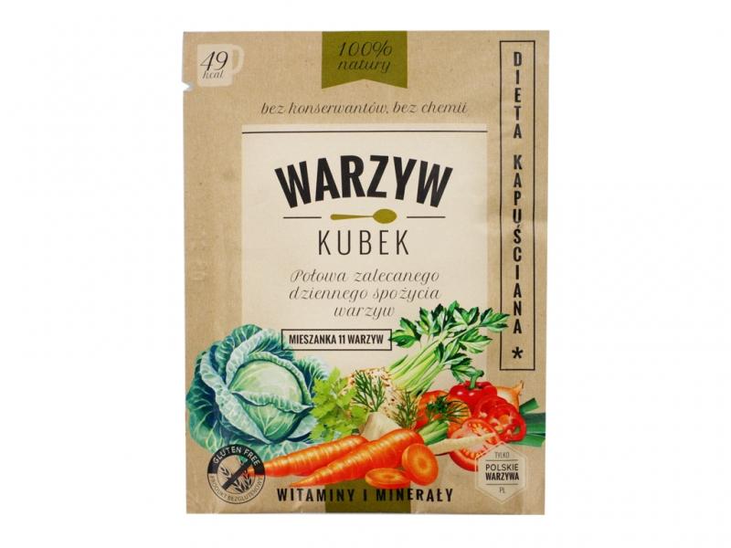 Kubek warzyw dieta kapuściana