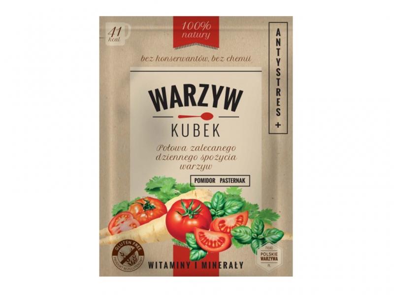 Kubek warzyw antystres