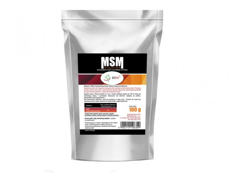 MSM Proszek suplement diety