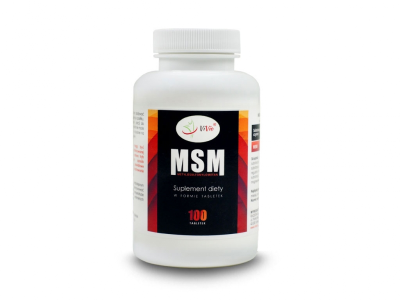MSM tabletki