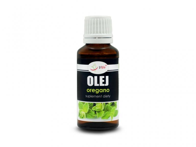 Olej z oregano esencja suplement diety