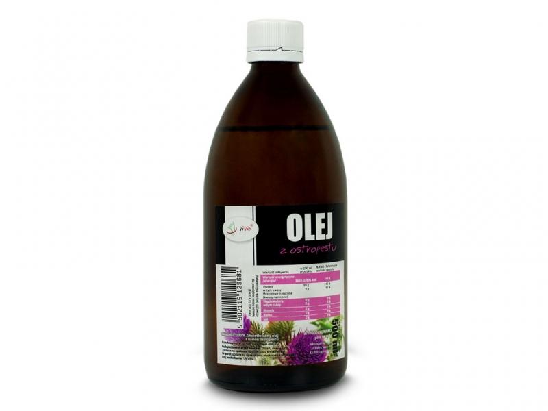 Olej z ostropestu zimnotłoczony
