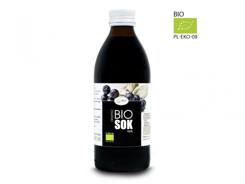 Sok BIO aronia naturalny 100% tłoczony