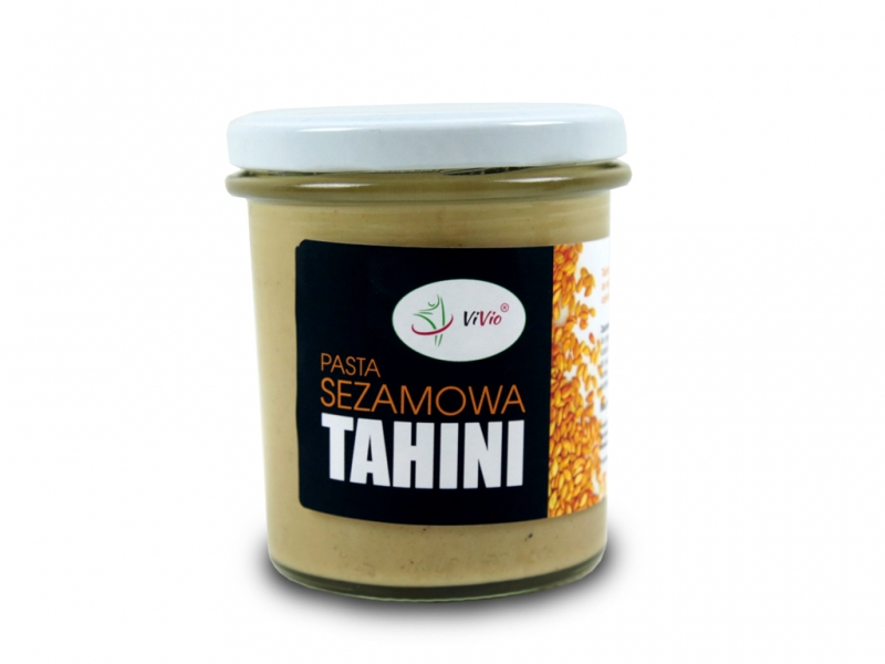 Tahini pasta sezamowa VIVIO