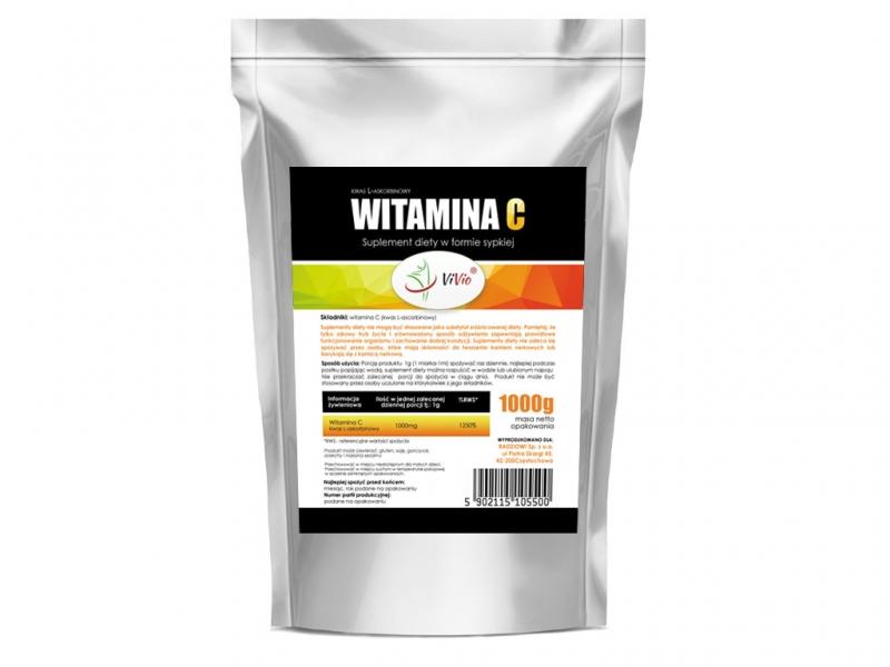 Witamina C (kwas L-askorbinowy) suplement diety