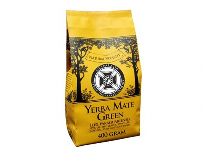 Yerba Mate Mate Green Despalada Moc